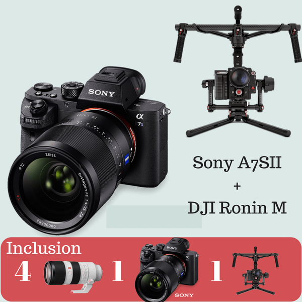 Sony A7 Sll Advance Kit On Rent