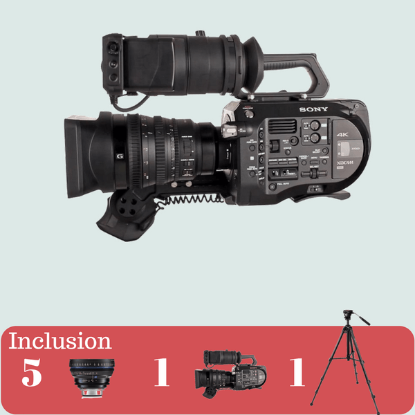Sony FS7 4K with CP2 5Lens KIt on rent