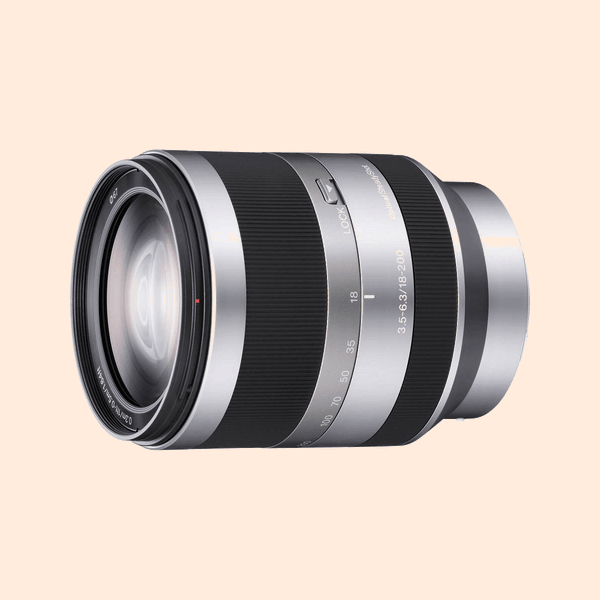 Sony 18-105mm (f-3.5) E-Mount Lens on Rent